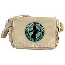 PCOS-Boxing-Girl Messenger Bag