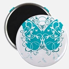 PCOS-Butterfly-BLK Magnet