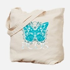 PCOS-Butterfly-BLK Tote Bag