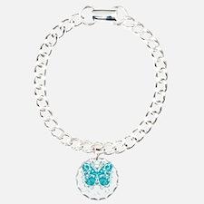 PCOS-Butterfly-BLK Bracelet