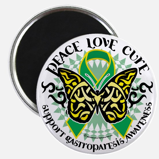 Gastroparesis-Butterfly-Tribal-2 Magnet