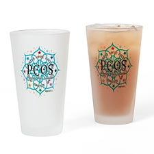 PCOS-Lotus Drinking Glass