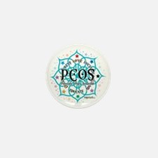 PCOS-Lotus Mini Button