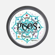 PCOS-Lotus Wall Clock