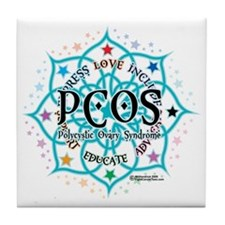 PCOS-Lotus Tile Coaster