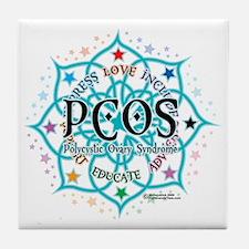 PCOS-Lotus Tile Coaster