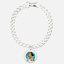 PCOS-Dog-blk Bracelet