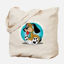 PCOS-Dog-blk Tote Bag