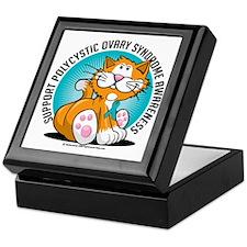 PCOS-Cat Keepsake Box