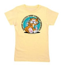 PCOS-Cat Girl's Tee