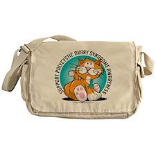 PCOS-Cat Messenger Bag