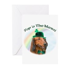 Dachshund Morn Greeting Cards (Pk of 10)