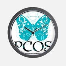 PCOS-Butterfly Wall Clock