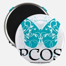 PCOS-Butterfly Magnet