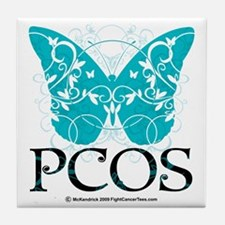 PCOS-Butterfly Tile Coaster