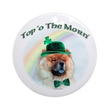 Chow Morn Ornament (Round)