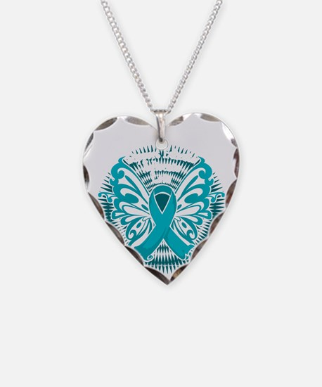 PCOS-Butterfly-3-blk Necklace