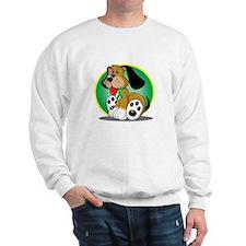 Gastroparesis-Dog-blk Sweatshirt