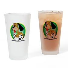 Gastroparesis-Dog-blk Drinking Glass