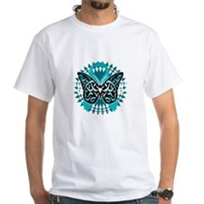PCOS-Butterfly-Tribal-2-blk Shirt
