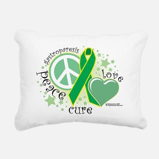 Gastroparesis-PLC Rectangular Canvas Pillow