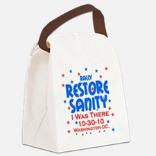 restore sanity Canvas Lunch Bag