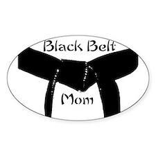 Martial Arts Black Belt Mom Decal
