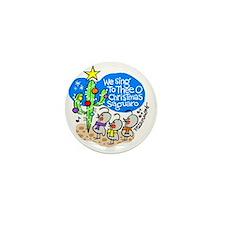 christmassaguaro Mini Button