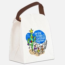 christmassaguaro Canvas Lunch Bag