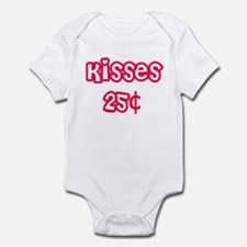 kisses 25 cents Infant Bodysuit