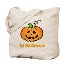 Happy Pumpkin 1st -dk Tote Bag