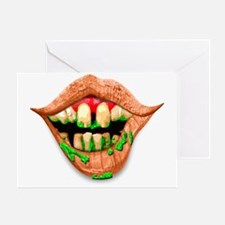 mouth3 Greeting Card