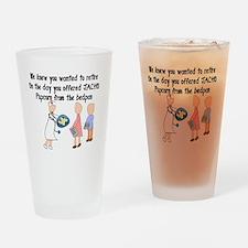 Retired Nurse Story Art Drinking Glass