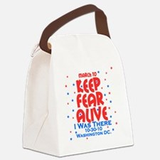 keep fear alive Canvas Lunch Bag