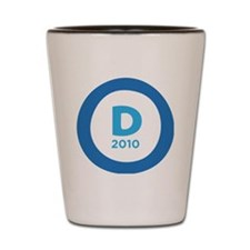 d2010rounded Shot Glass