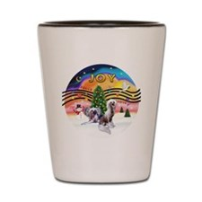 XMusic 2 - Chinese Crested (2HL) Shot Glass