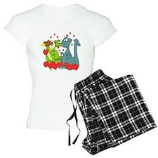 dinoloveSHIRTDARK Pajamas