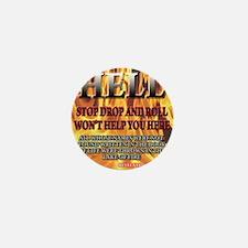 hell_tee Mini Button
