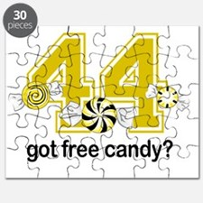 Got Free Candy Yellow Puzzle