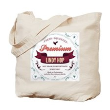 Lindy Hop Coaster Tote Bag