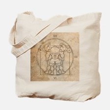 big_vitruv_clock Tote Bag