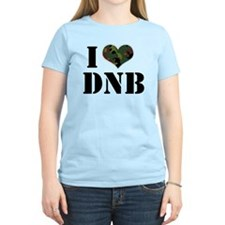 I Heart Drum & Bass Women's Pink T-Shirt