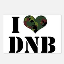 I Heart Drum & Bass Postcards (Package of 8)