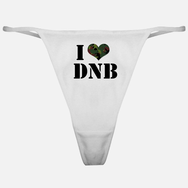 I Heart Drum & Bass Classic Thong
