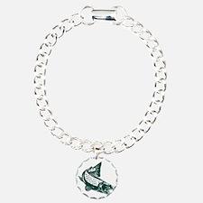 trout fish jumping Bracelet
