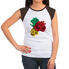 omsafe Women's Cap Sleeve T-Shirt