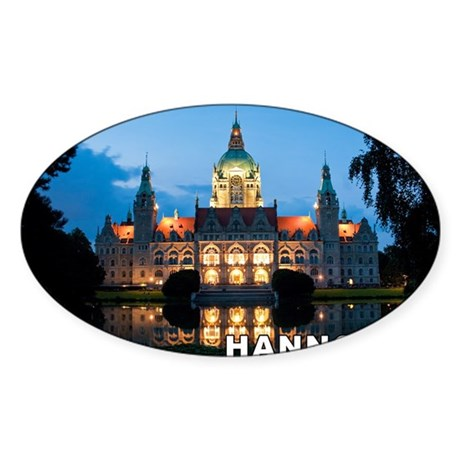 Hannover Sticker (Oval)