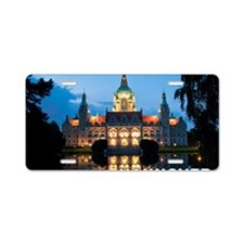 Hannover Aluminum License Plate