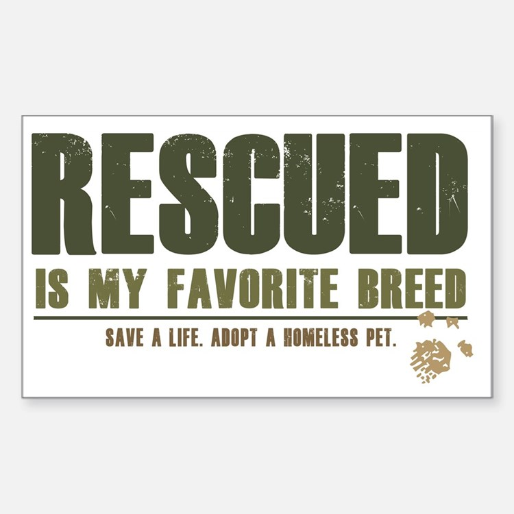 Rescue Pets Decal