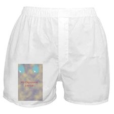 depression journal Boxer Shorts